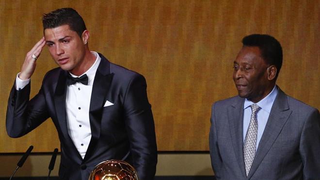 """""""Vua bóng đá"""" Pele gây bão khi thách thức """"hậu bối"""" Ronaldo xô đổ kỷ lục ghi…1283 bàn"""
