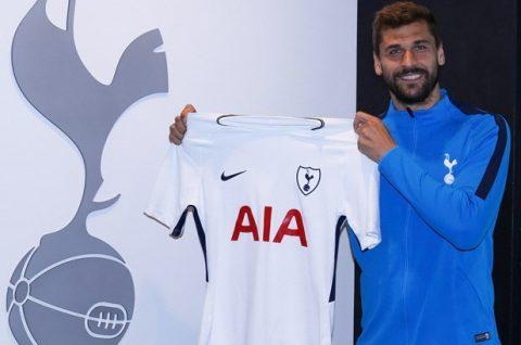 Tottenham cướp thành công Llorente ngay trước mũi Chelsea