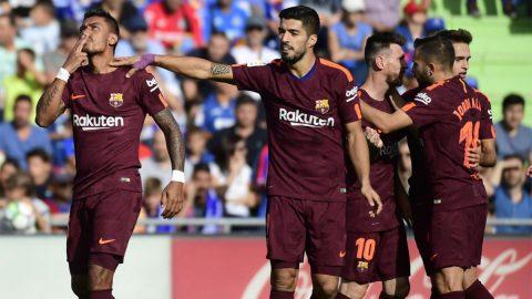 Tân binh lập công, Barca ngược dòng thắng nhọc Getafe