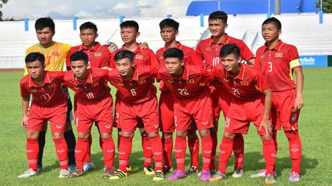 Lịch thi đấu – Bảng xếp hạng U16 Việt Nam tại vòng loại U16 châu Á