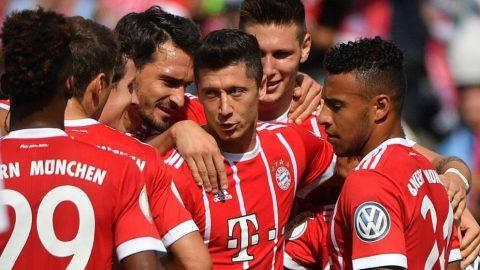 Lewandowski lập cú đúp, Bayern đại thắng Mainz trên sân nhà