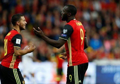 """Hazard trở lại – Lukaku lập hat-trick, Bỉ hủy diệt """"tí hon"""" Gibraltar 9 bàn không gỡ"""