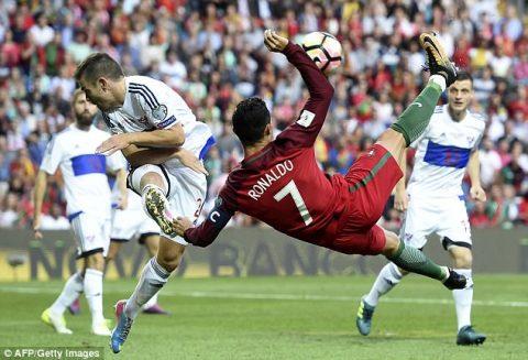 VIDEO: Bồ Đào Nha 5-1 Đảo Faroe (Bảng B VL World Cup 2018)