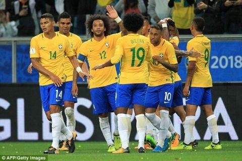 VIDEO: Brazil 2-0 Ecuador (Vòng loại World Cup 2018)