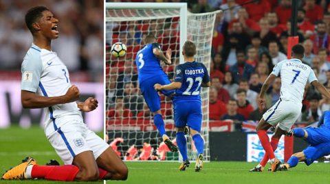 """Từ tội đồ hóa người hùng, sao trẻ Rashford đưa tuyển Anh đặt một chân đến Nga sau trận """"chung kết"""" bảng F"""