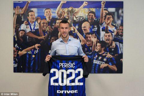 Gia hạn với Inter, Man Utd CHÍNH THỨC hết cửa chiêu mộ Perisic