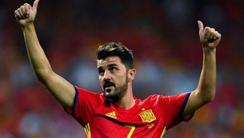 Vừa trở lại ĐT Tây Ban Nha sau 3 năm, David Villa lại chấn thương