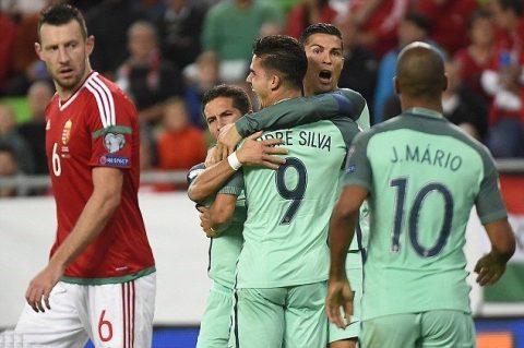 """Ronaldo kiến tạo, Bồ Đào Nha nhọc nhằn """"vượt ải"""" Hungary"""
