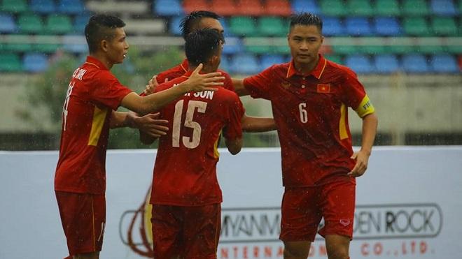 Kết quả U18 Việt Nam vs U18 Philippines: Siêu phẩm của sao trẻ HAGL và cơn mưa bàn thắng