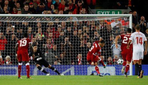 Sút hỏng phạt đền, Liverpool đánh rơi 3 điểm đáng tiếc trên sân nhà