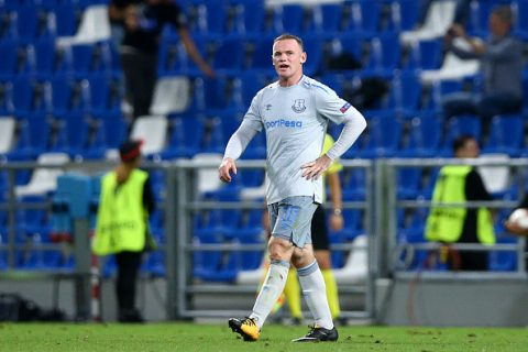 Rooney và Everton thua 'tâm phục khẩu phục' ngày ra quân tại Europa League