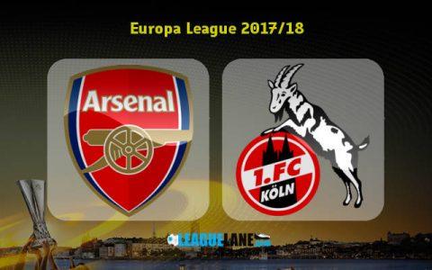 Arsenal vs Cologne, 01h45 ngày 15/9: 3 điểm ngày ra quân