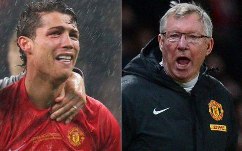 Tiết lộ: Sir Alex đã từng dùng đến cả bạo lực để Ronaldo được như ngày hôm nay