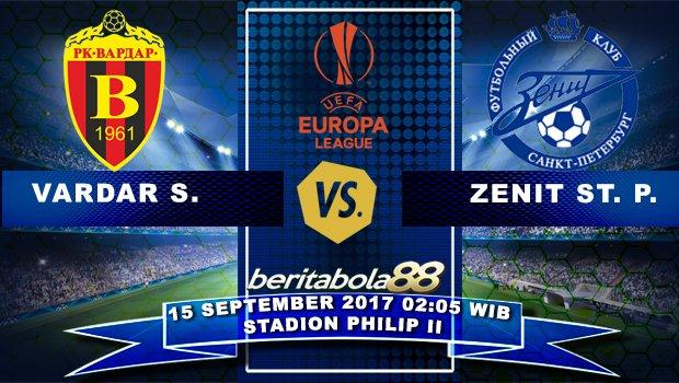 """Vardar vs Zenit, 02h05 ngày 15/9: """"Ma mới"""" không dễ bị bắt nạt"""