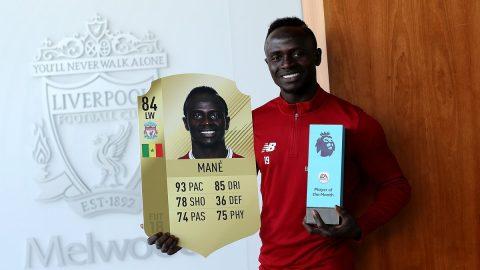 """Vượt mặt 2 bom tấn đắt giá Lukaku và Morata, Sadio Mane xuất sắc giật giải """"Cầu thủ hay nhất tháng 8"""" của Premier League"""