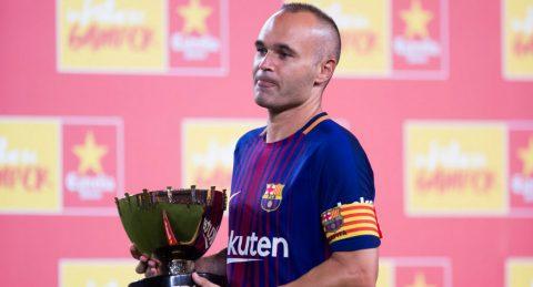 Iniesta đồng ý gia hạn hợp đồng cùng Barcelona với điều kiện…