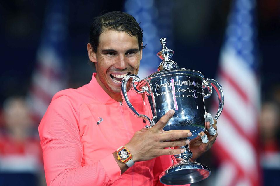 Nadal và vật bất ly thân gần 1 triệu USD giúp chinh phục US Open 2017