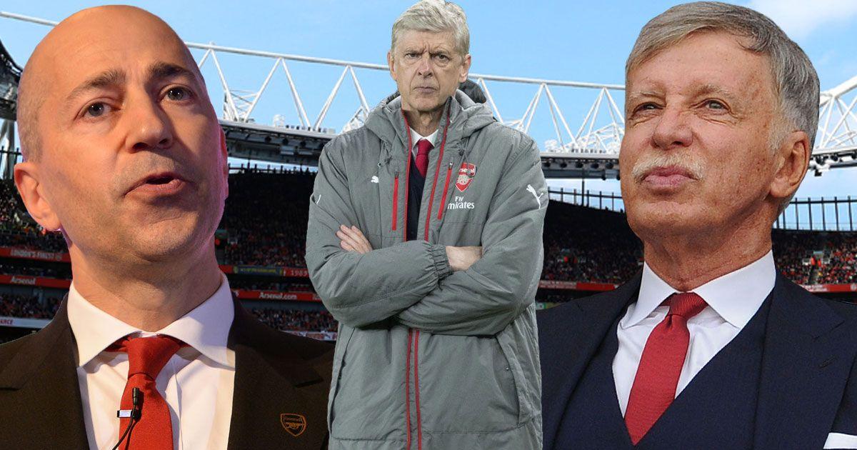 CĐV Arsenal đồng loạt kêu gào đòi đuổi cổ Wenger và BLĐ vì… làm ăn siêu lãi trên TTCN