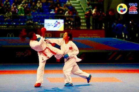 Nguyễn Thị Ngoan xuất sắc mang về tấm HCV lịch sử cho Việt Nam tại giải Karatedo Thế giới