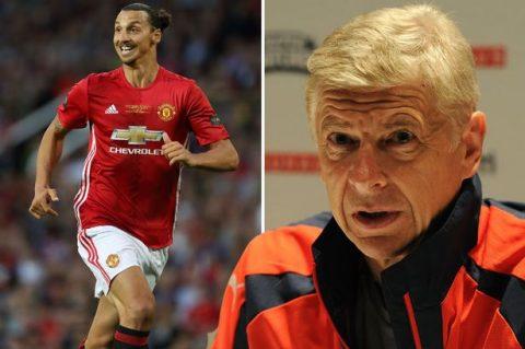 Điểm tin chiều 09/9: Ibra trực tiếp báo tin vui cho Mourinho, Wenger vẫn tin Arsenal có thể vô địch