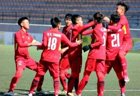 U16 Việt Nam CHÍNH THỨC giành vé tham dự VCK U16 châu Á 2018