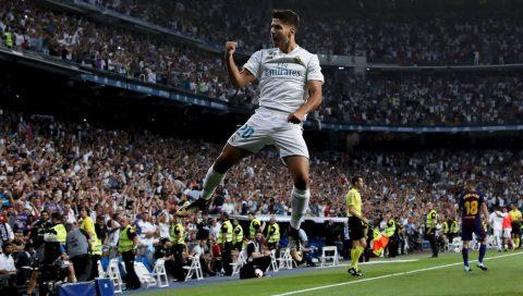 Marco Asensio giật giải cầu thủ trẻ xuất sắc nhất thế giới
