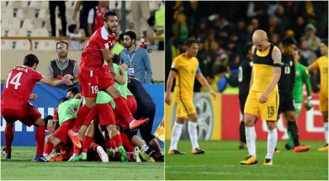 'Hai nửa buồn vui' trong ngày vòng loại World Cup khu vực châu Á khép lại