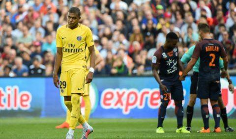 Vắng Neymar, PSG vô hại trước Montpellier