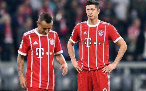 Bayern Munich 2-2 Wolfsburg: Chia điểm thất vọng