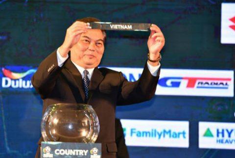 Tuyển Việt Nam không đụng Thái Lan ở vòng bảng AFF Cup 2018
