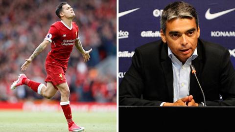 Liverpool tố Barca bịa đặt việc hét giá 200 triệu bảng cho Coutinho
