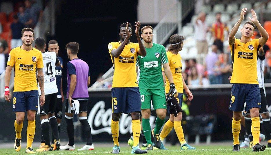 Không Griezmann, Atletico Madrid chia điểm nhạt nhòa trước Valencia