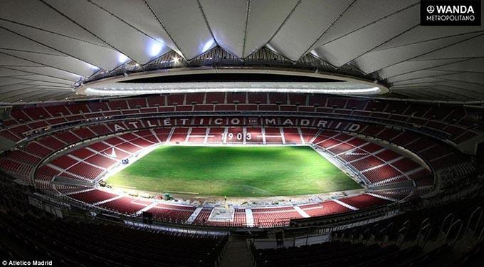 CHÙM ẢNH: Khám phá SVĐ mới hoành tráng của Atletico Madrid trước ngày khánh thành