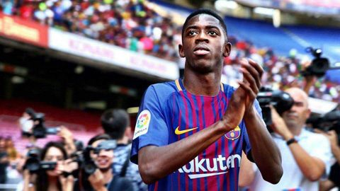 Bất ngờ với mức lương siêu khủng mà Dembele được hưởng tại Barca