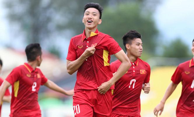Danh sách U18 Việt Nam dự VCK U18 ĐNÁ: Không có tên Đoàn Văn Hậu