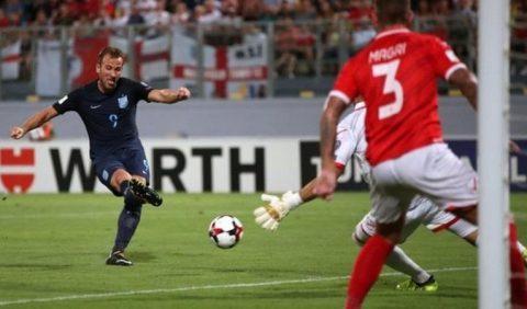 """Harry Kane tỏa sáng với cú đúp giúp Tam sư vùi dập """"nhược tiểu"""" Malta 4 bàn không gỡ"""