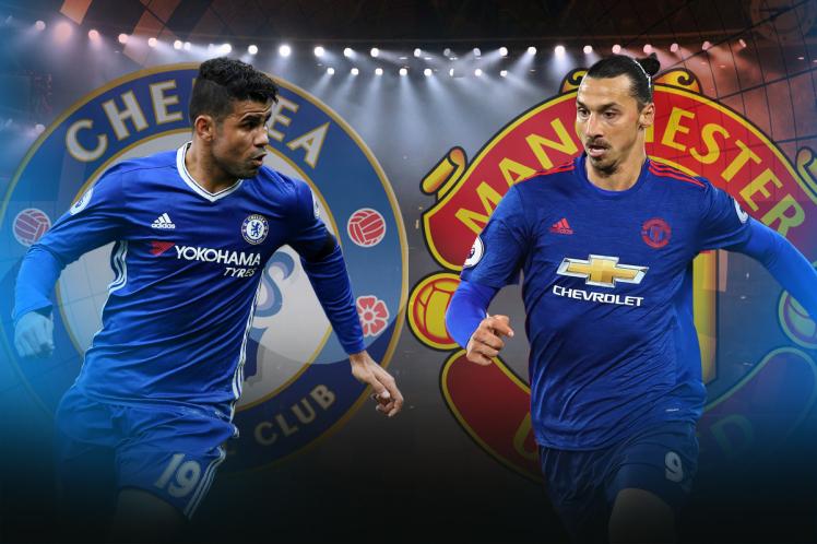 "Ngũ đại gia"" Premier League chốt danh sách dự Champions League: Có Ibra, loại Costa"