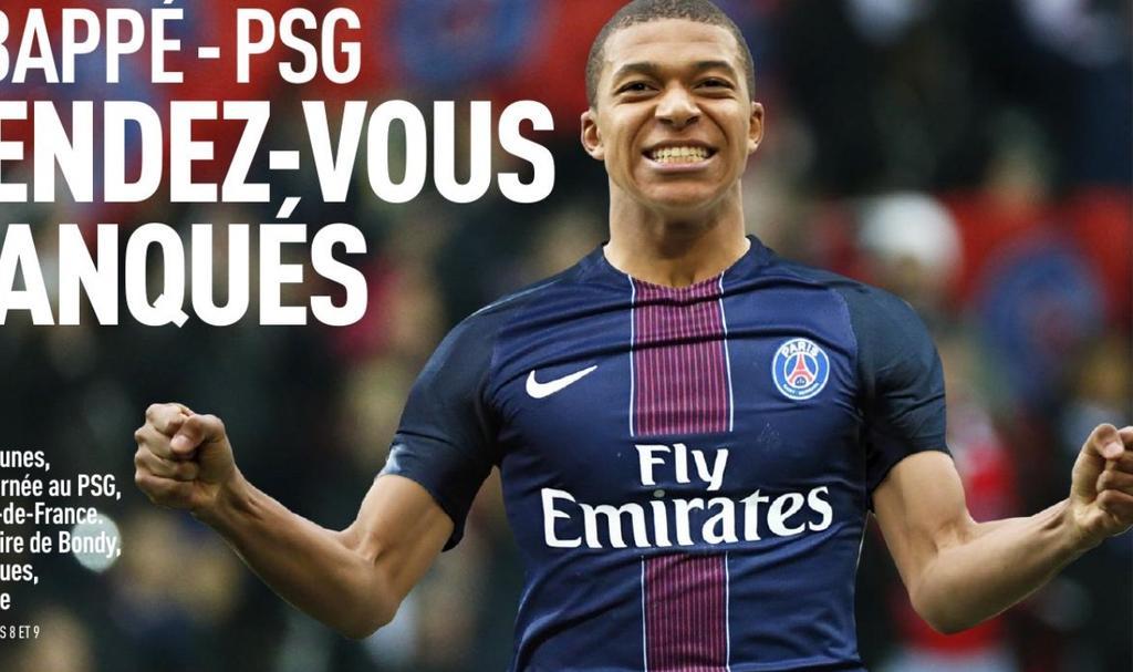 Hé lộ số áo của bom tấn Mbappe tại PSG