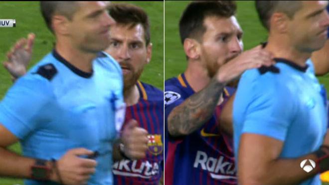 Messi thêm một lần 'bật' trọng tài, có nguy cơ nhận phạt như Ronaldo?