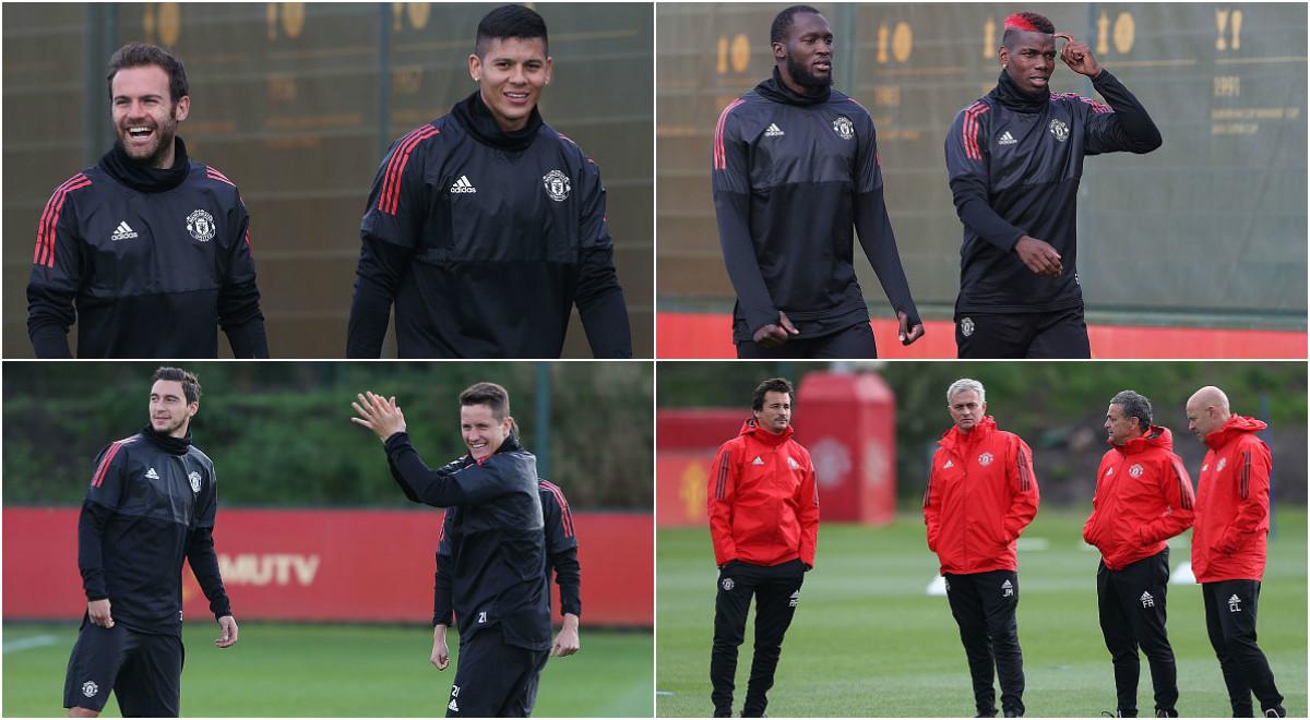 Dào sao MU luyện tập cực 'sung' trước ngày trở lại Champions League