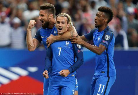 VIDEO: Pháp 4-0 Hà Lan (Bảng A VL World Cup 2018)