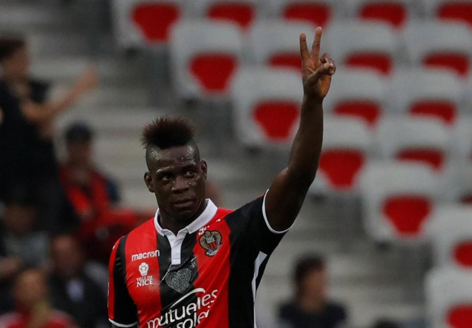 """""""Ngựa chứng"""" Balotelli tỏa sáng rực rỡ, Nice bất ngờ nghiền nát ĐKVĐ Monaco"""