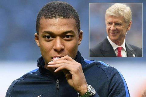 Bom tấn Mbappe tiết lộ đã từ chối Arsenal và Wenger để gia nhập PSG