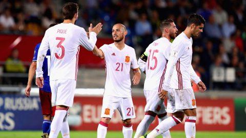 Kết quả Liechtenstein vs Tây Ban Nha: Morata rực sáng, hơn cả đánh tennis