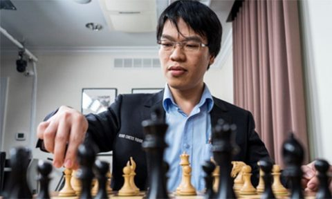 Quang Liêm bất ngờ để thua kỳ thủ Ấn Độ, đứt mạch 59 ván bất bại