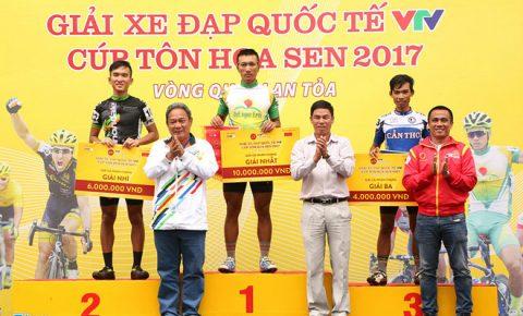Cua-rơ Hàn Quốc nhiều cơ hội vô địch giải đua xe đạp VTV Cup 2017