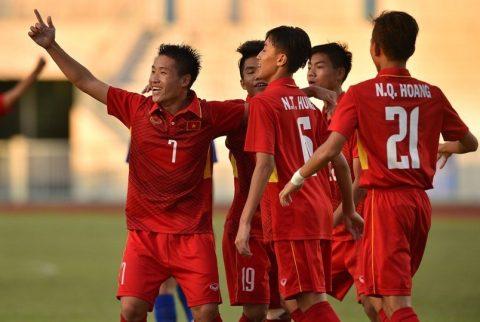 """Thi đấu thiếu người, U16 Việt Nam vẫn dễ dàng """"đè bẹp"""" Campuchia"""