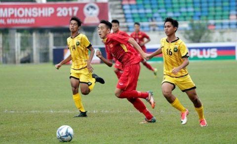 """Thua tâm phục khẩu phục, ngôi sao U18 Brunei thừa nhận """"U18 Việt Nam khiến chúng tôi thấy bất lực"""""""