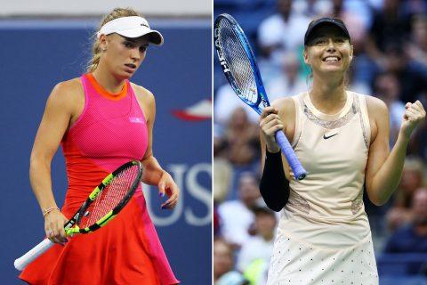 Wozniacki lên tiếng chỉ trích US Open quá ưu ái Sharapova