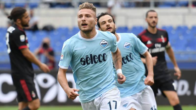 Kết quả Lazio vs AC Milan: Một mình Immobile hủy diệt cả đội hình trăm triệu của Milan